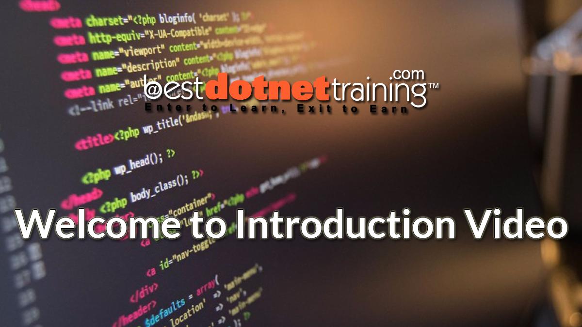 Asp Net MVC Online Training |  Net MVC online Classes, Tutorials
